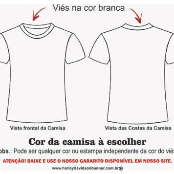 Viés da Camiseta - Sublimação Total
