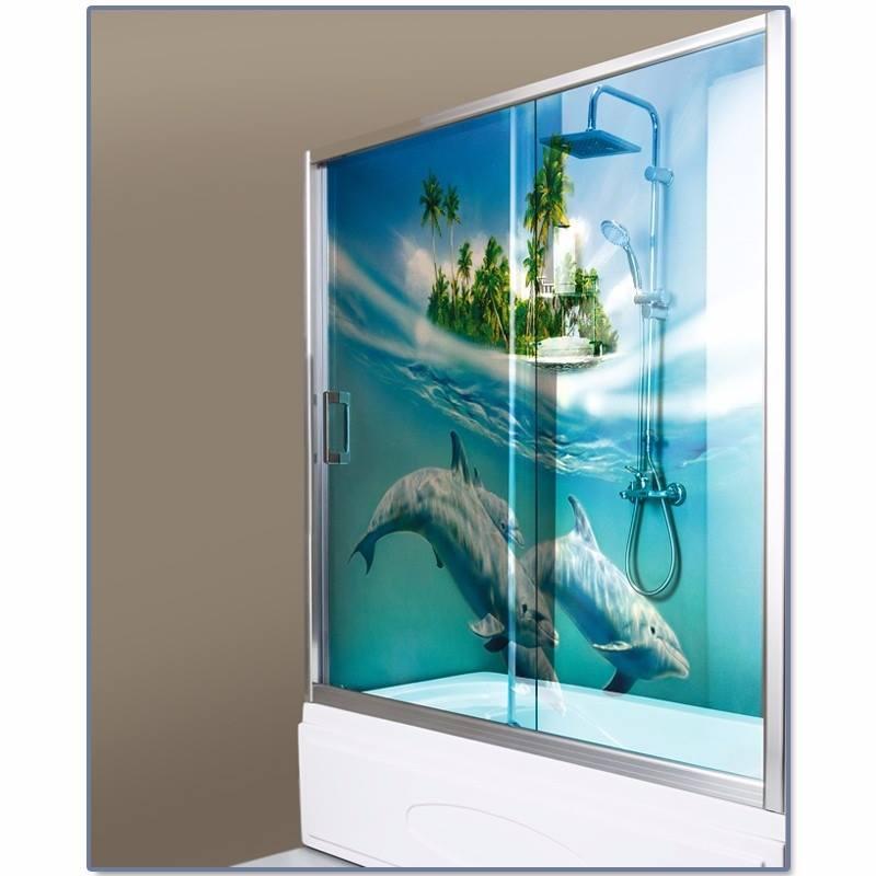 vidro temperado de box em banheiro